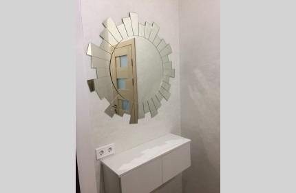 """Дизайнерское зеркало """"Солнце"""" диаметр 100 см"""