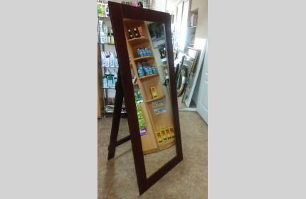Большое напольное зеркало ВЕНГЕ