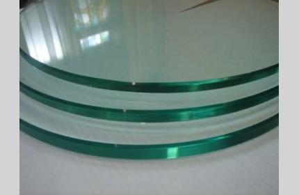 Фигурная полировка торцов стекла и зеркала