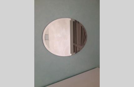 Зеркало Овал с фацетом