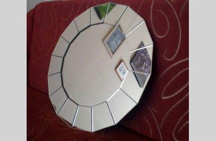 """Зеркало """"Солнышко"""" - простое, но симпатичное)"""