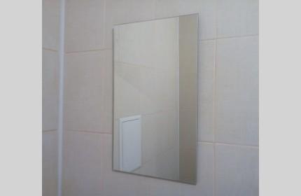 Зеркало простое маленькое прямоугольное