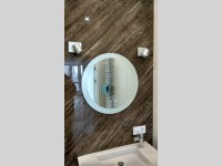 Зеркало с матовой кромкой