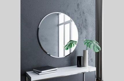 Круглое зеркало с фацетом диаметром 1000 мм