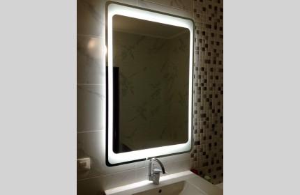 """Зеркало """"ML большой""""  со светодиодной подсветкой"""