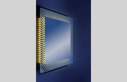 """Зеркало """"Лучики""""  с LED- подсветкой"""