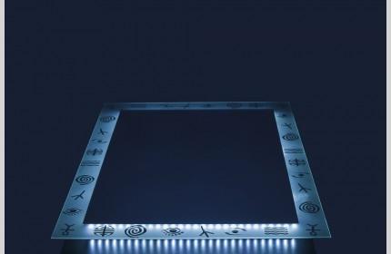 "Зеркало ""ML Фигурки""  со светодиодной подсветкой"