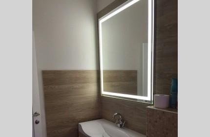 """Зеркало """"ML квадрат""""  с LED - подсветкой"""