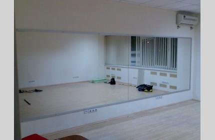Большие зеркала для спортзалов, танцевальных студий