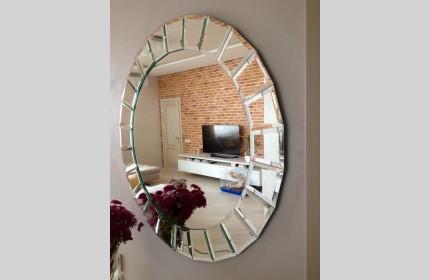 Зеркало с фацетом - модно, оригинально, изысканно!