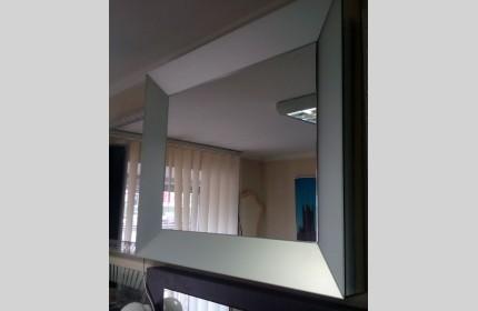 Зеркало дизайнерское объемное САТИН