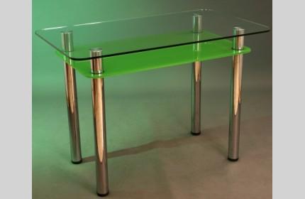 Стол обеденный зеленый