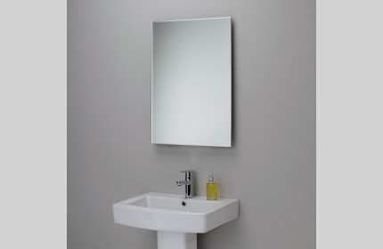 Зеркала простые прямоугольные с полированными краями